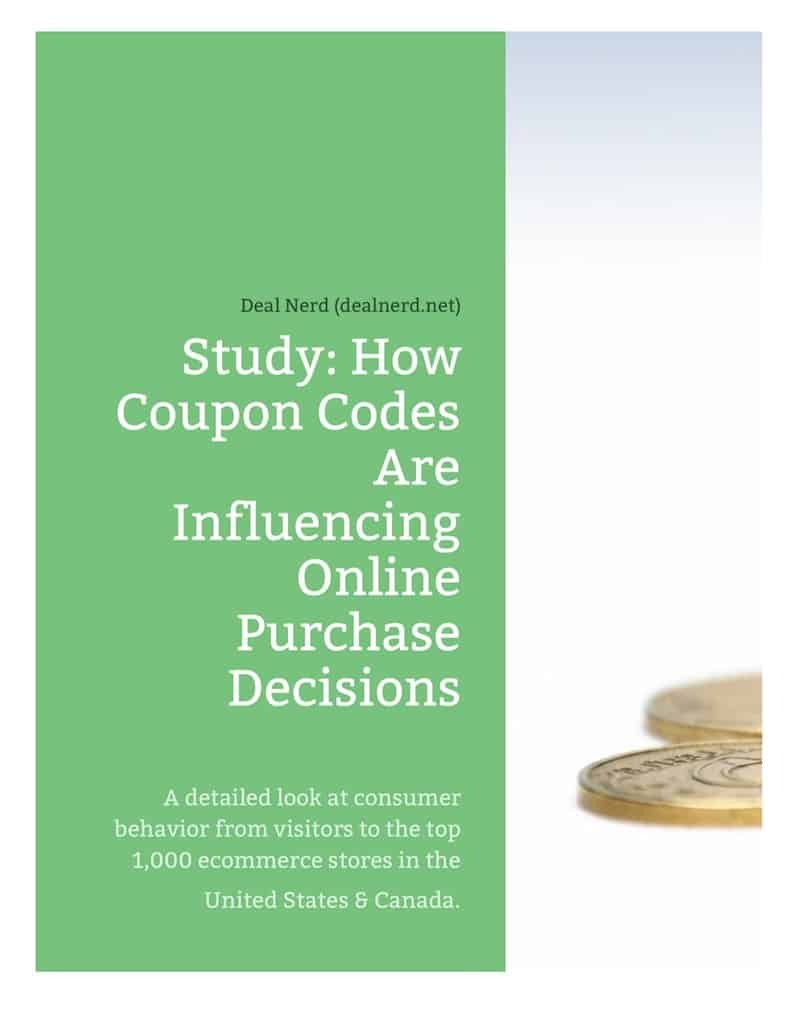 Coupon Code Study and Report