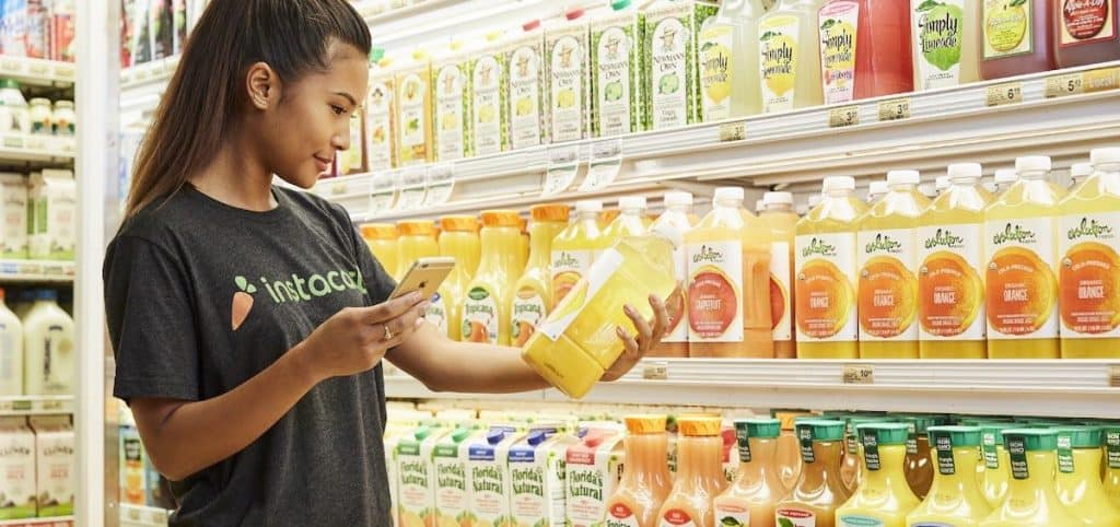 Instacart and a plethora of other options exist for grocery delivery... are you using them?
