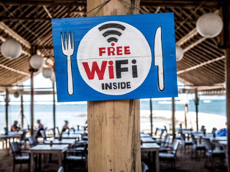Places With Free Wifi